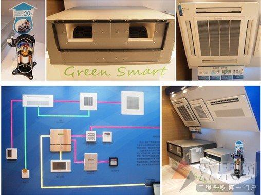三星智能压缩机能根据房间环境,自动调节 制冷制暖容量.图片