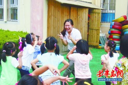 青岛1.6万幼师六成无资格证 入职门槛将提高 _