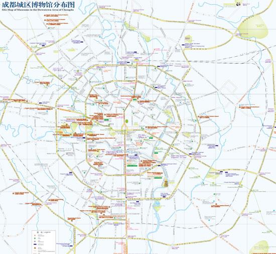 成都市市区地图_成都市区地图全图_旅游地图_微信公众号文章