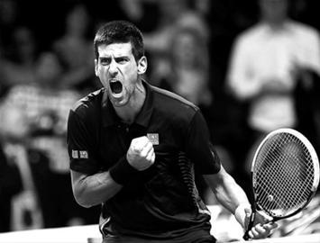 捧起ATP年终总决赛奖杯 德约科维奇拼来年终