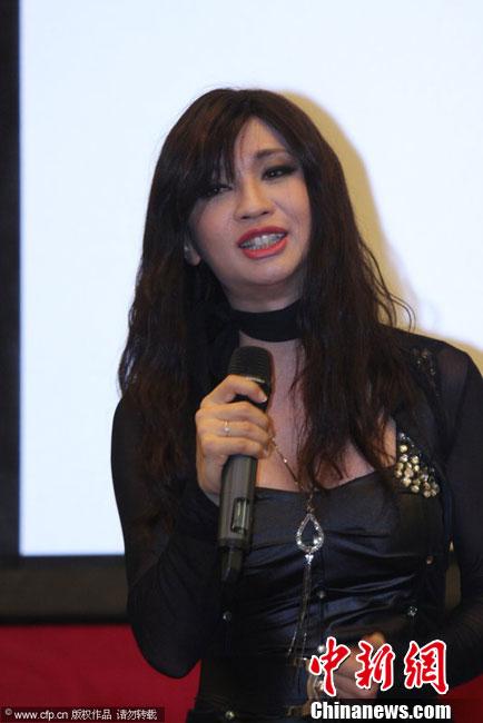 马来西亚变性歌手 钟洁希 进军内地_娱乐中心_