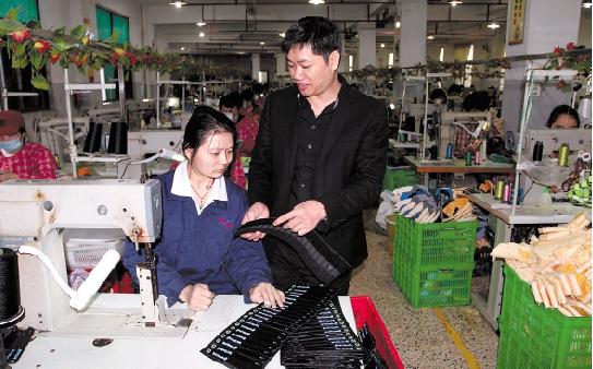 从残疾青年到企业掌门――李定海:摔出来的生意