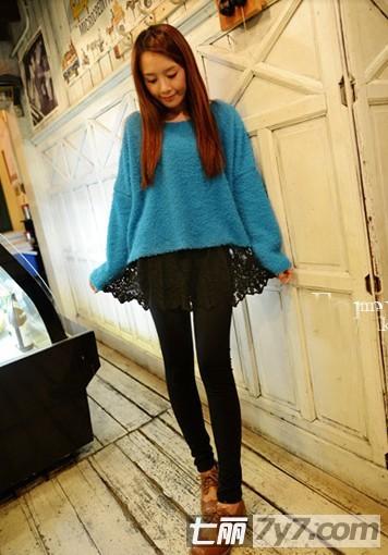 小个子女生冬季服装搭配技巧 甜美半身裙显高显瘦