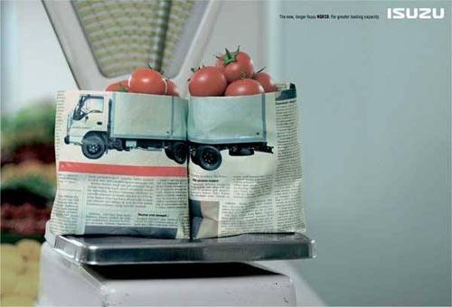 十大搞笑创意汽车广告图片