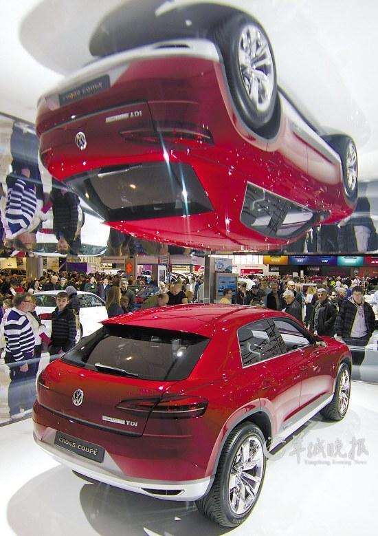 大众公司的混合动力汽车高清图片