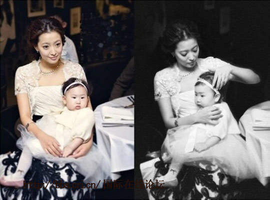 韩彩英已怀孕11周 结婚6年终当妈 盘点暴丑的明星儿女