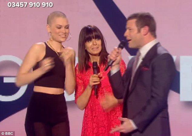 Jessie J光头亮相英国慈善晚会 个性震撼全场图片