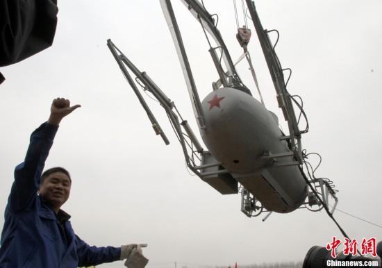 岗工人造出无人潜艇 可遥控指挥摄像取景