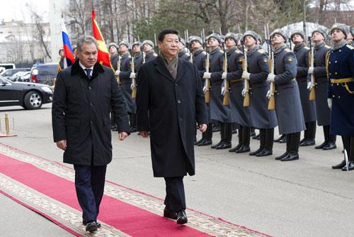 俄罗斯 国防 部长 绍 伊 古 陪同 下 参观 俄罗斯 联邦