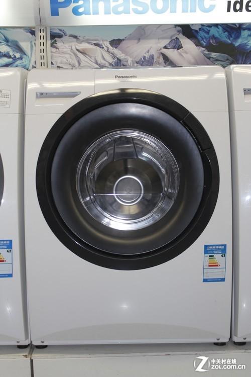 斜式滚筒更洁净 松下滚筒洗衣机4900元