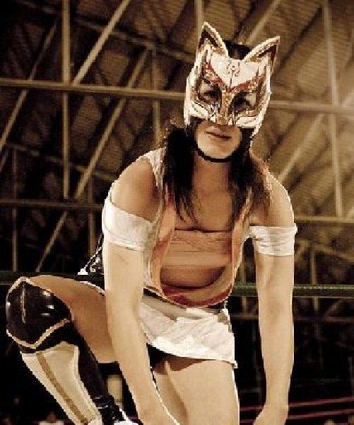 墨西哥彪悍女子摔跤