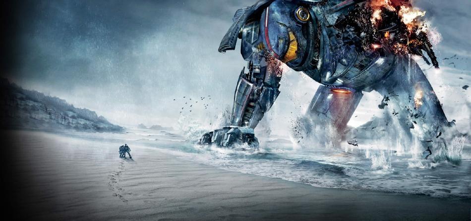 环太平洋 发布多款机器人海报 主打宏大场景