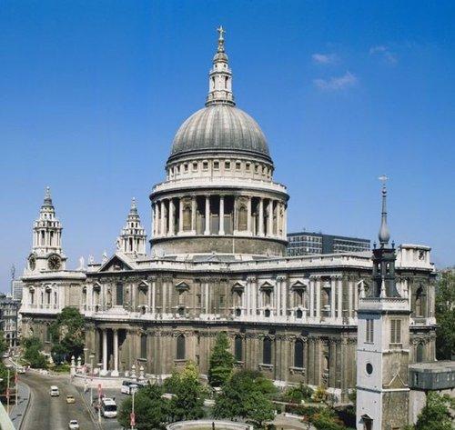 撒切尔国葬仪式举办地圣保罗大教堂