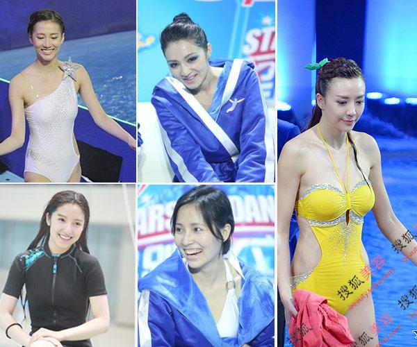 女星跳水身材妆容大PK 谁是赢家