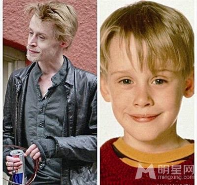 小鬼当家男主角长大成人 邋遢逛街被当犀利哥