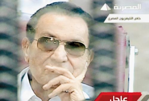 穆巴拉克否认接受采访指认媒体 捏造 新闻