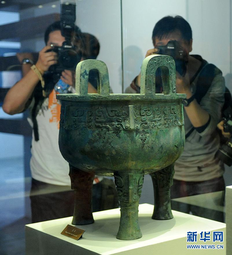 鼎天鬲地见证北京建城3058年