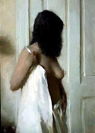 的人体美 美国当代油画大师作品欣赏