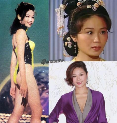 图揭港姐今昔大对比 美女是否变成大妈