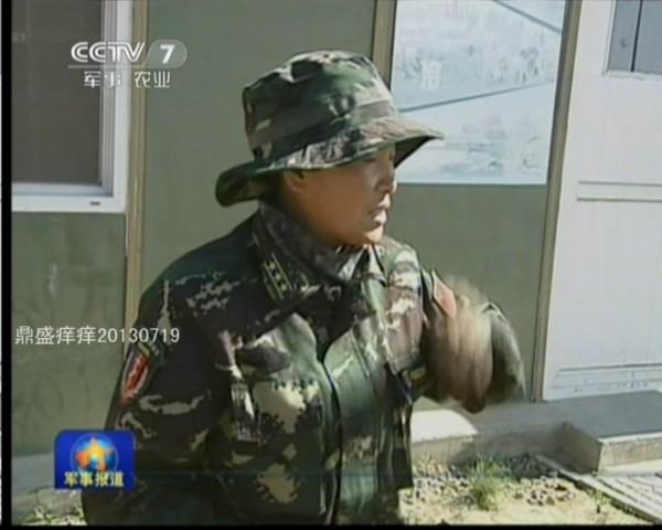 射击高手 中国特种部队上校女 教头 曝光图片