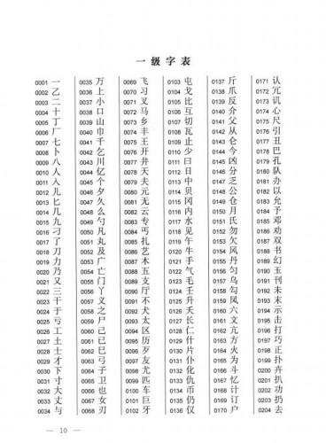 3500个常用汉字_常用3500汉字顺口溜