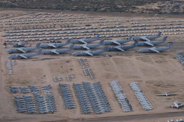 美军飞机坟场