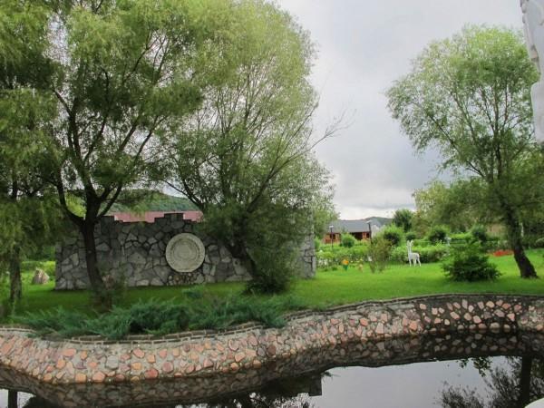四排赫哲族风情园感受赫哲鱼文化 高清组图