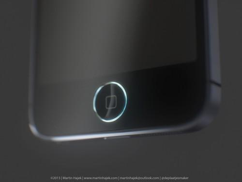 支持指纹识别 iPhone5S Home键带LED灯