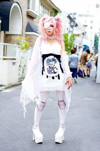 街拍东京时尚怪胎组图