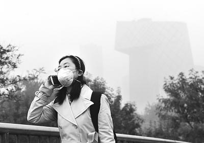雾霾 英语手抄报