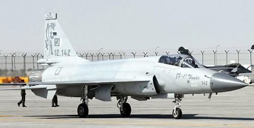 将成都飞机工业集团及巴基斯坦航空联合体合研的枭