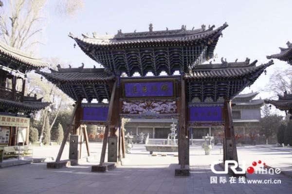 感知中国 张掖大佛寺 组图