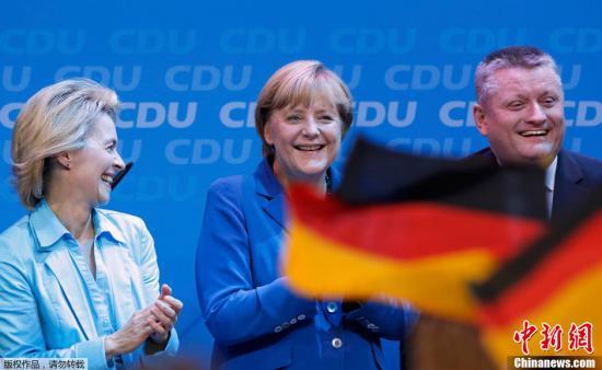 默克尔在新任期首次演讲中促修改欧盟条约 图