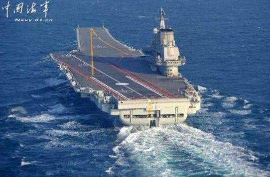 辽宁舰完成南海训练及试验任务返回青岛