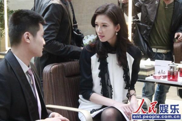 林志玲加盟北京卫视《私人订制》图片