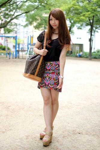 日本大学街拍美女人气排行榜top25