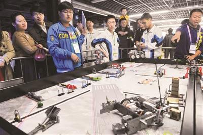 2014 FLL机器人世锦赛 机器人发烧友动脑又动手