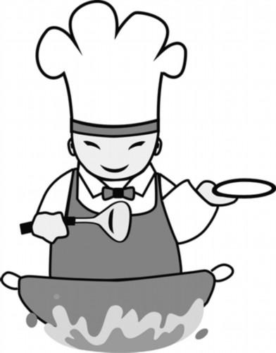 中国可爱食物的简笔画