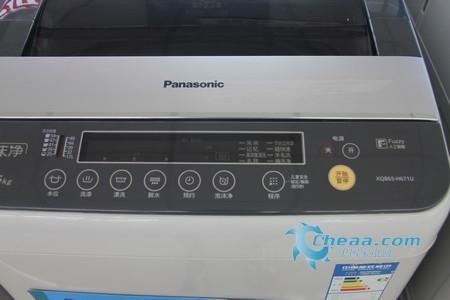 松下xqb65-h671u洗衣机控制面板