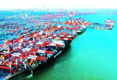 青岛西海岸:新区起航向深蓝