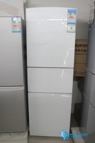 美菱BCD-261ZE3BDJ三开门冰箱整体外观-高品质完美精品 美菱三门