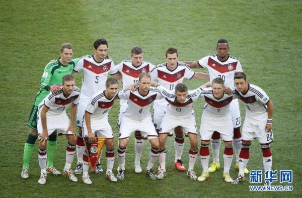 巴西世界杯决赛:德国加时绝杀阿根廷夺冠