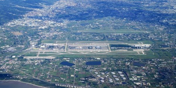 桃园机场鸟瞰图