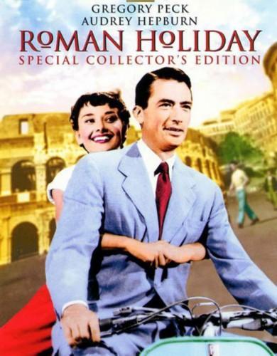 《罗马假日》电影海报 (资料图)