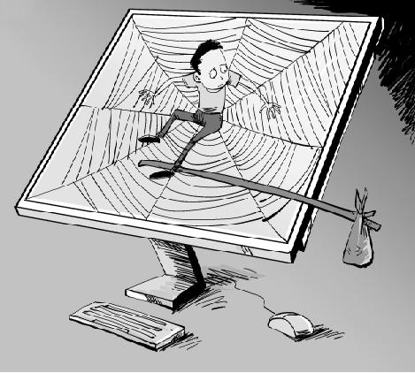 杭州调查报告显示 父爱缺失成孩子网络成瘾重