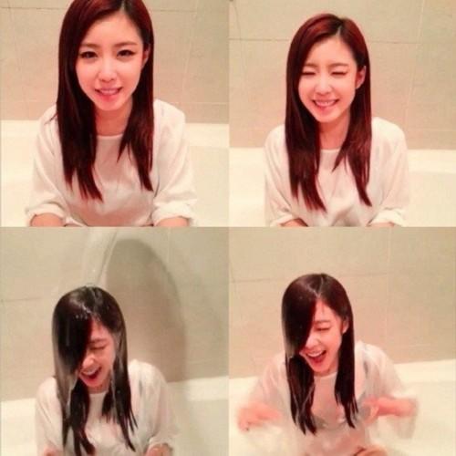 exo少女时代接受冰桶挑战:吴亦凡鹿晗湿身秀腹肌