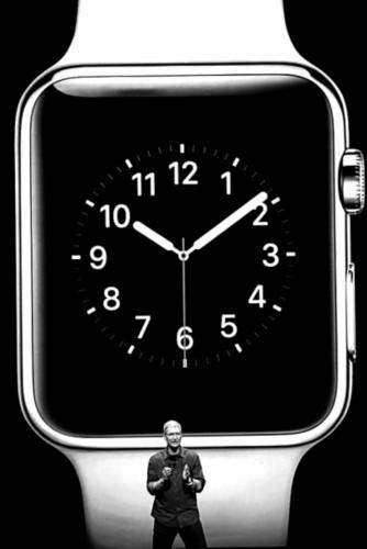 苹果公司发布智慧手表