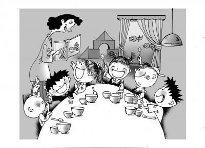 如何教托班孩子自己吃饭-引导幼儿 自己的事情自己做