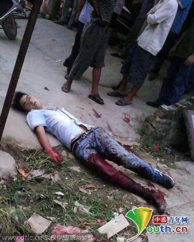 广西桂平发生街头砍人事件 致1人死亡