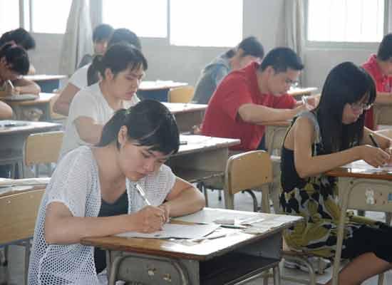河北省2014年成人高考共计164419人报名参加